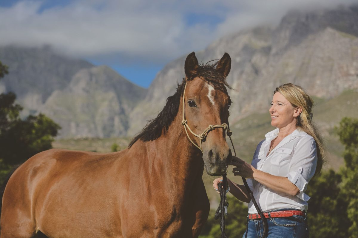 Roxi is the first horse to have a Gin named after her with her face being eternalised as the logo of ROXI'S GIN.
