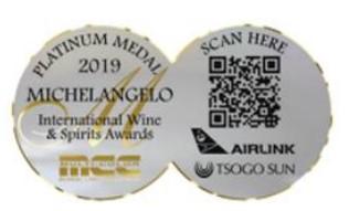 Michelangelo Platinum Award